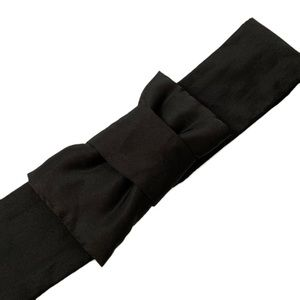 Black Bow Belt